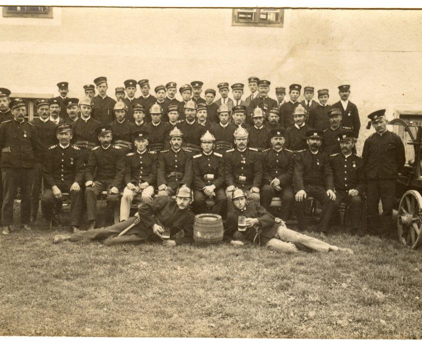 Gruppenbild ca. 1928-1933