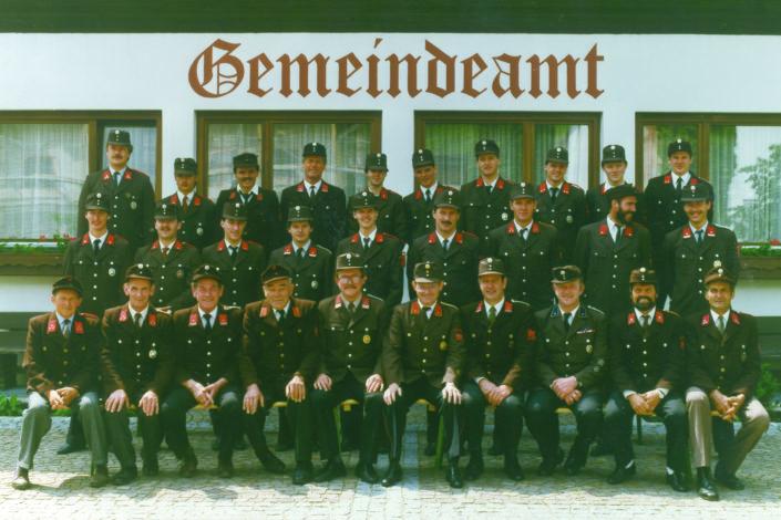 Gruppenbild 1989